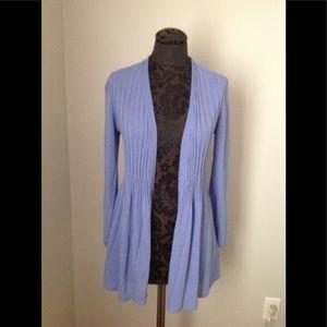 Nic+Zoe blue/lavender cardigan